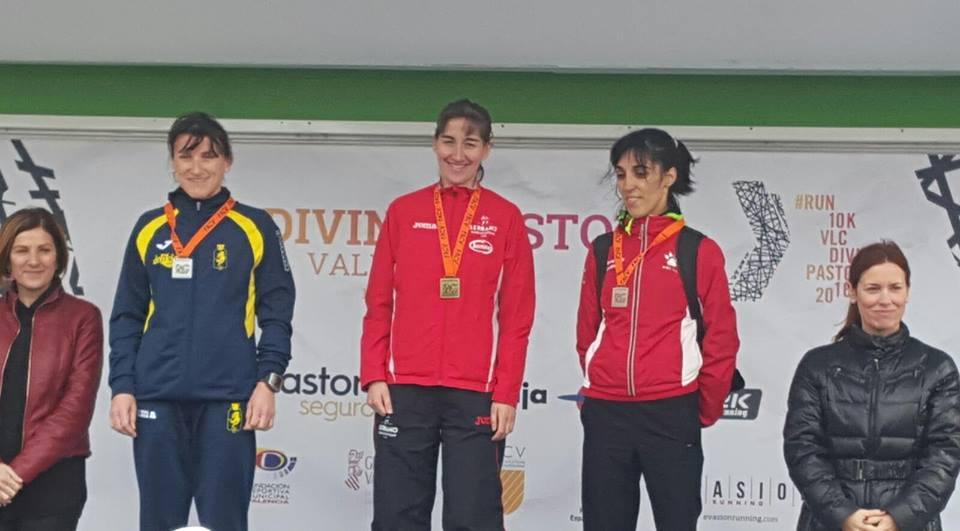 isabel checa campeona 10k