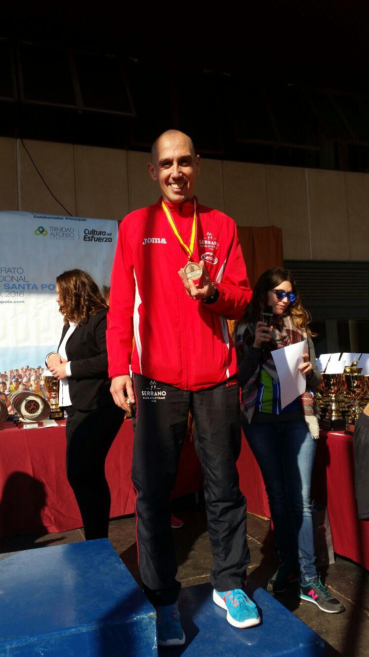Luis Félix Martínez atleta