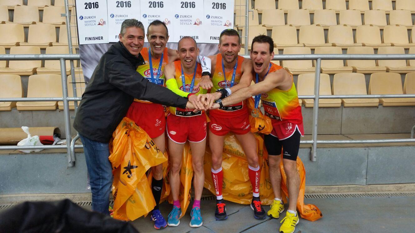 cárnicas serrano campeón de españa maratón