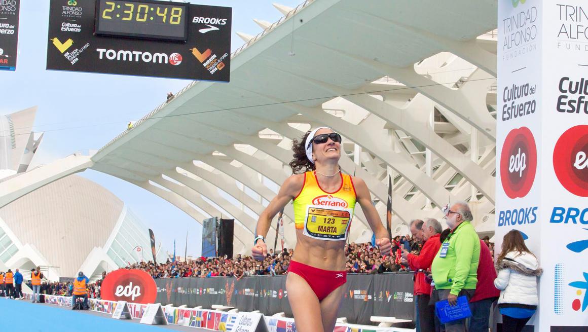 Marta Esteban Maratón